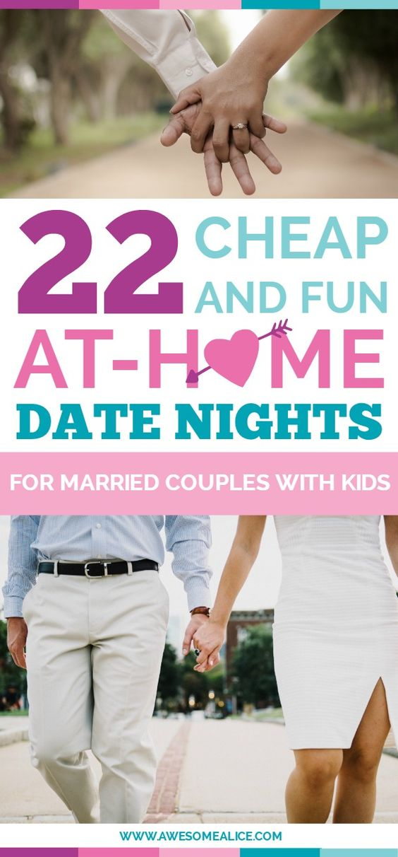 22 cheap and fun at home date nights for marriage couples with kids