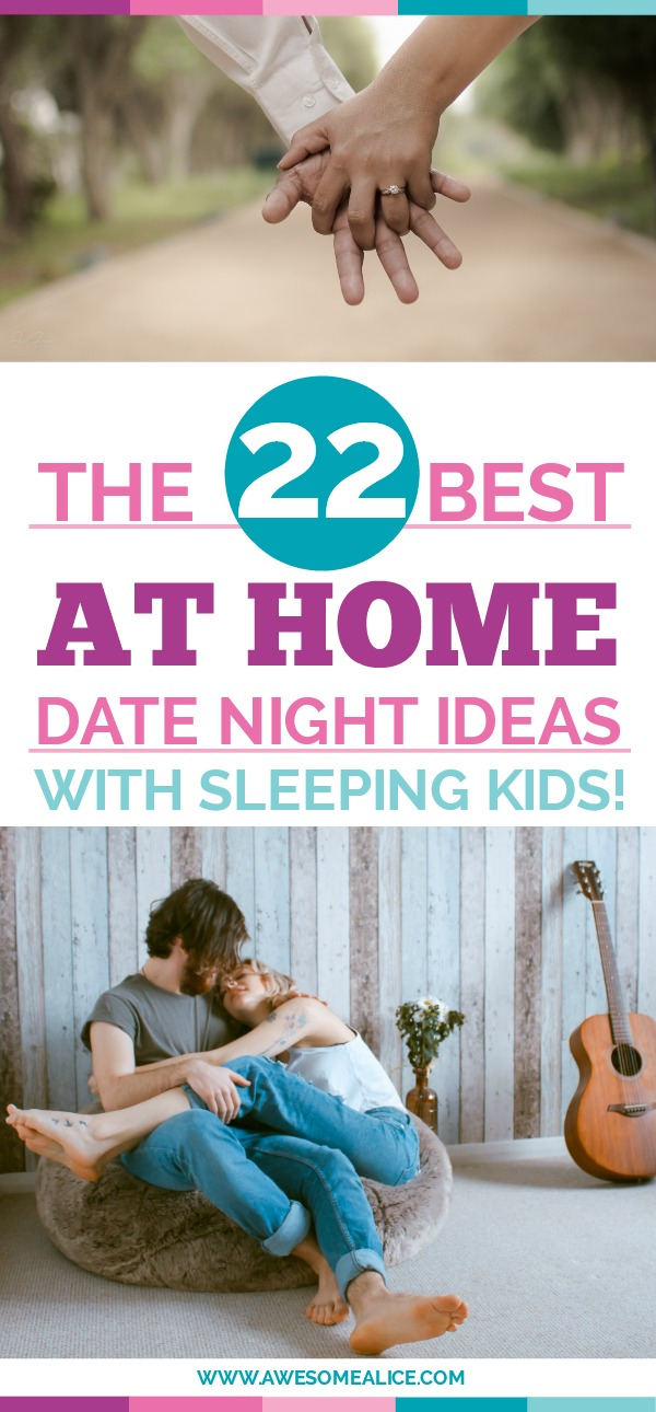 At home date night ideas that are perfect when you have sleeping kids