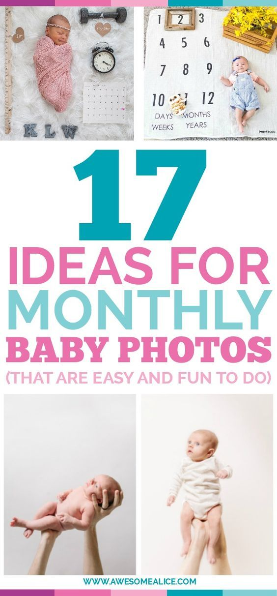 9ad4e4b72d92a Here are fun   creative photography ideas for documenting your baby s first  year of life.