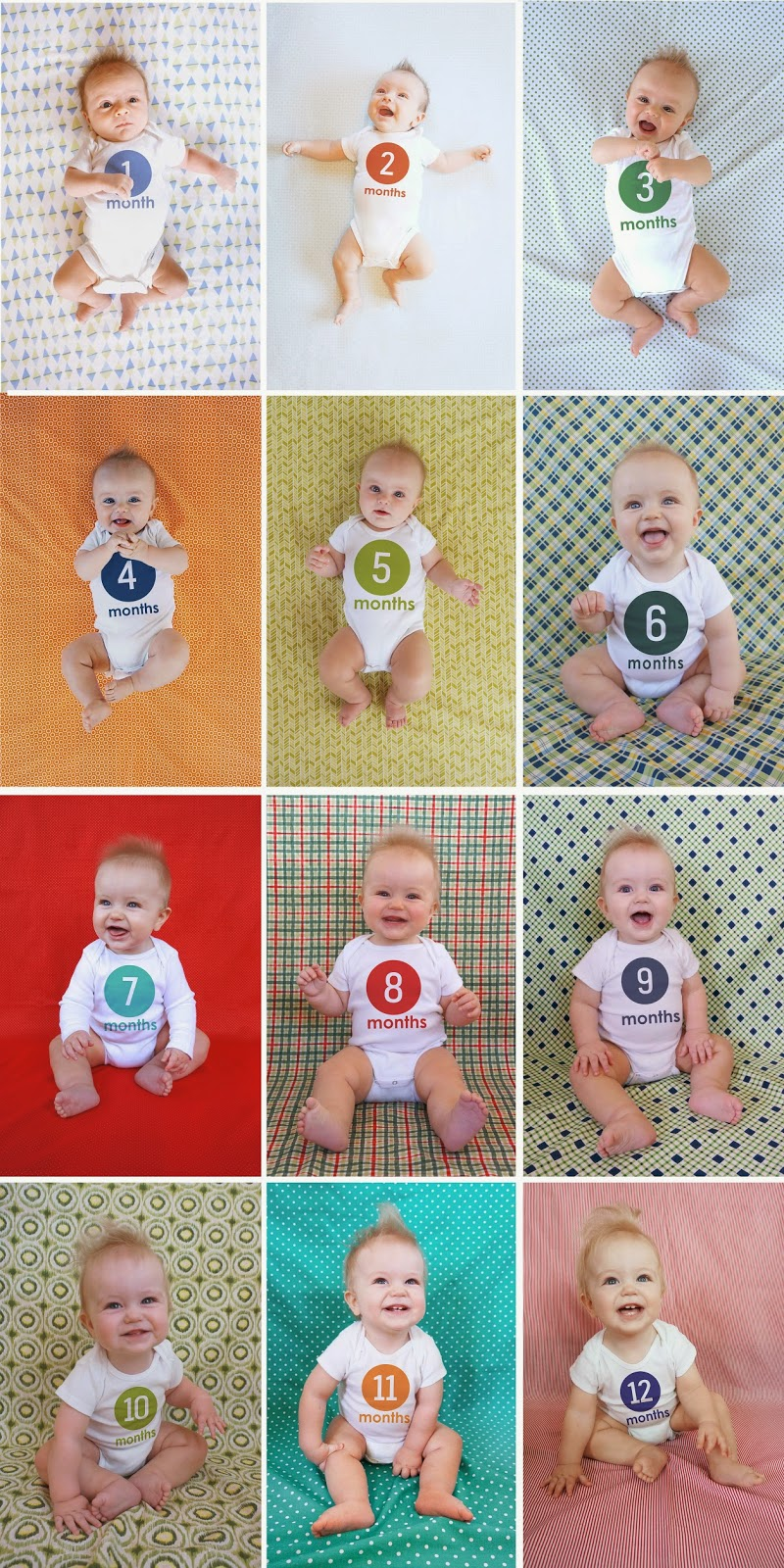 17 Cute And Easy Photo Ideas For Your Babys First Year Document