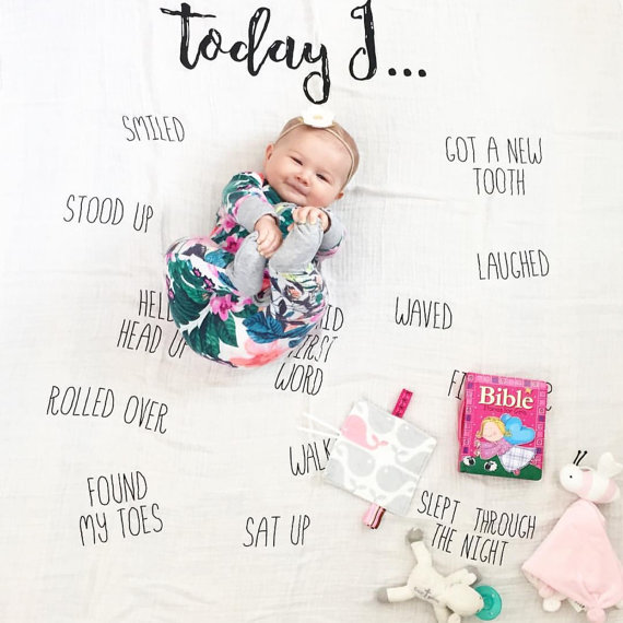 17 Cute And Easy Photo Ideas For Your Baby S First Year Document