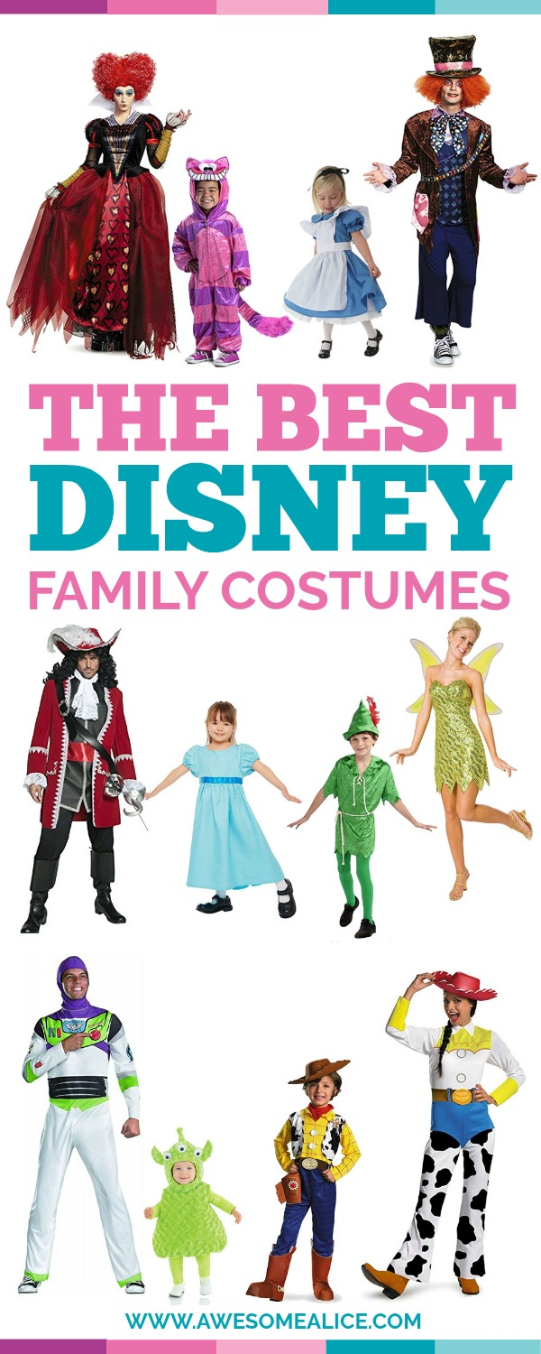 Cute Family Disney Halloween Costumes.The Best Disney Family Halloween Costumes Awesome Alice