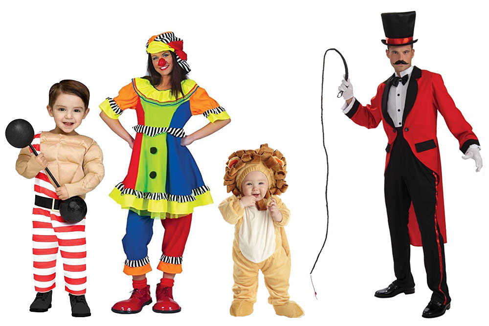 Fun And Unique Family Matching Costume Ideas Circus