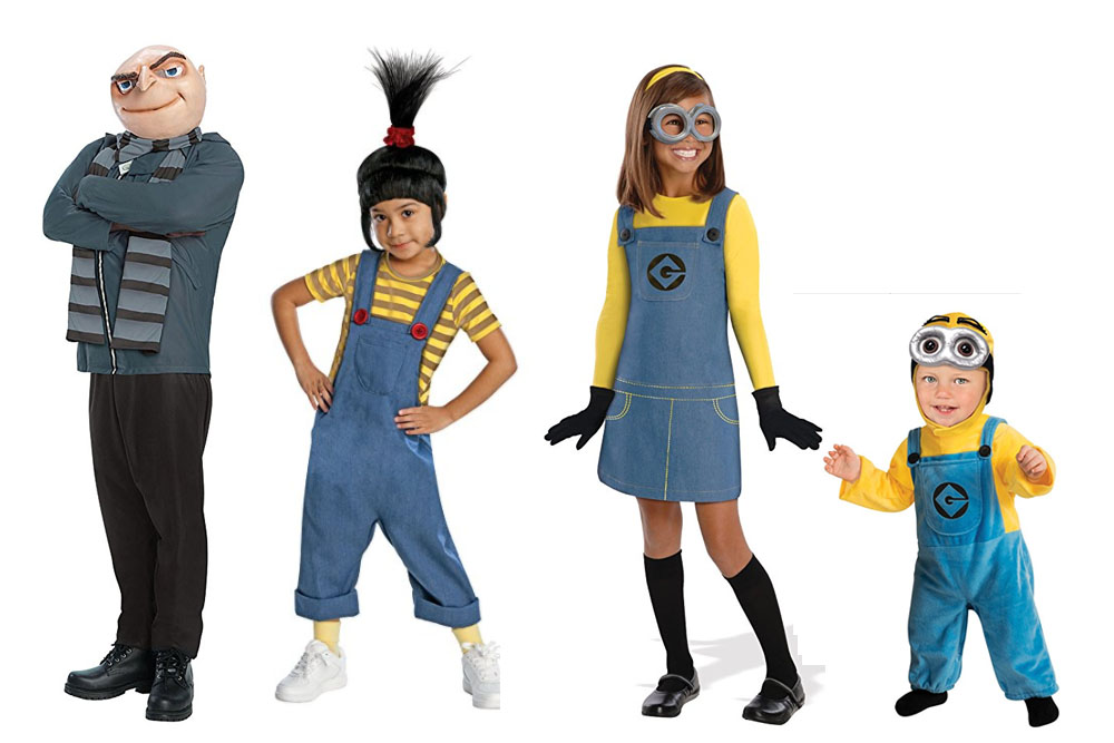 Fun And Unique Family Matching Costume Ideas Despicable Me