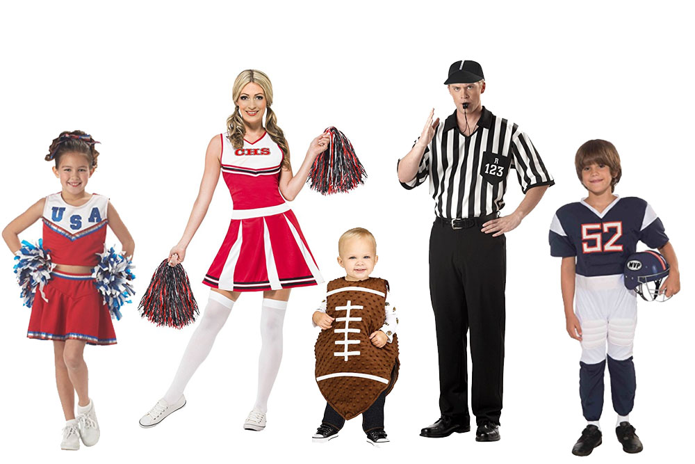 Fun And Unique Family Matching Costume Ideas Football Team