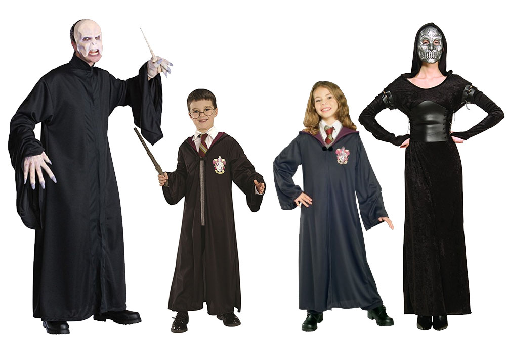 Fun And Unique Family Matching Costume Ideas Harry Potter