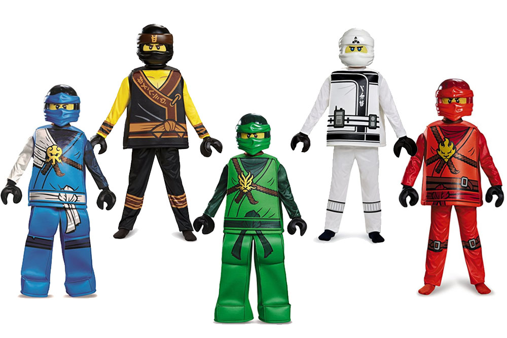 Fun And Unique Family Matching Costume Ideas Ninjago