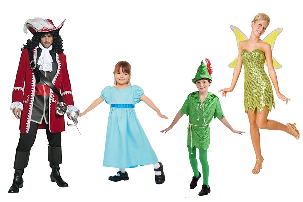Fun And Unique Family Matching Costume Ideas Peter Pan