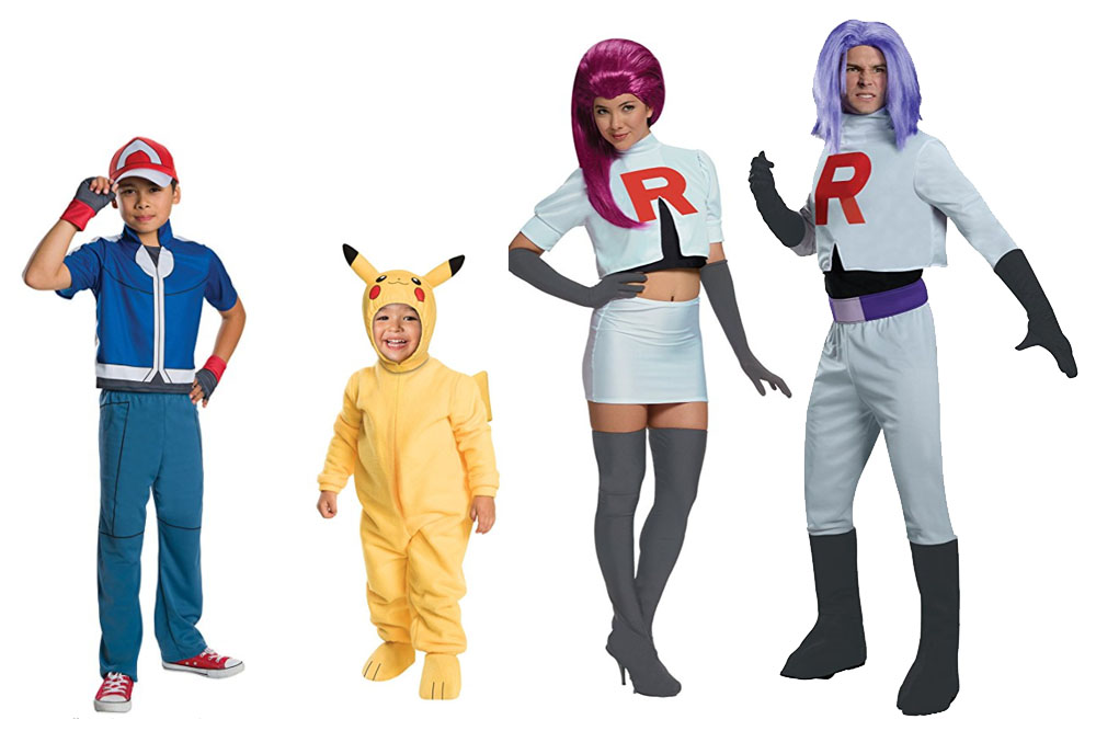 Fun And Unique Family Matching Costume Ideas Pokemon