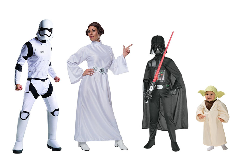 Fun And Unique Family Matching Costume Ideas Star Wars
