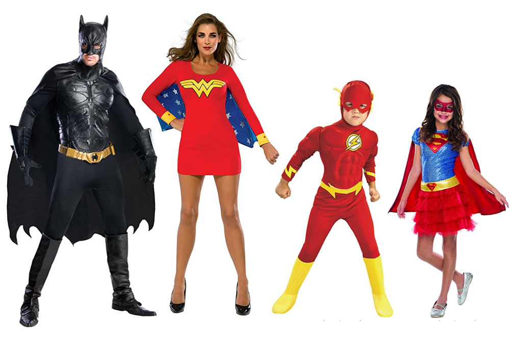 Fun And Unique Family Matching Costume Ideas Superheroes