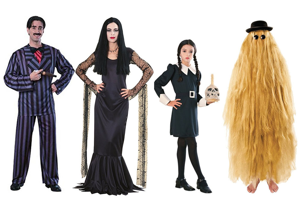 Fun And Unique Family Matching Costume Ideas The Addams Family