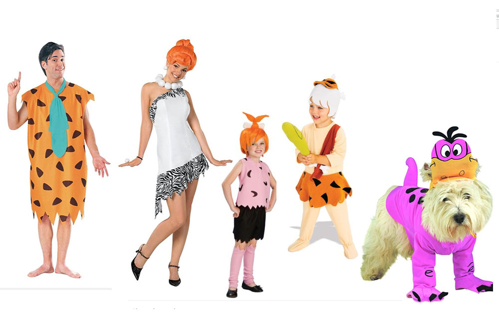 Fun And Unique Family Matching Costume Ideas The Flintstones