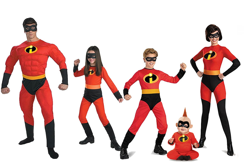 Fun And Unique Family Matching Costume Ideas The Incredibles  sc 1 st  Awesome Alice & Fun And Unique Family Matching Costume Ideas The Incredibles ...