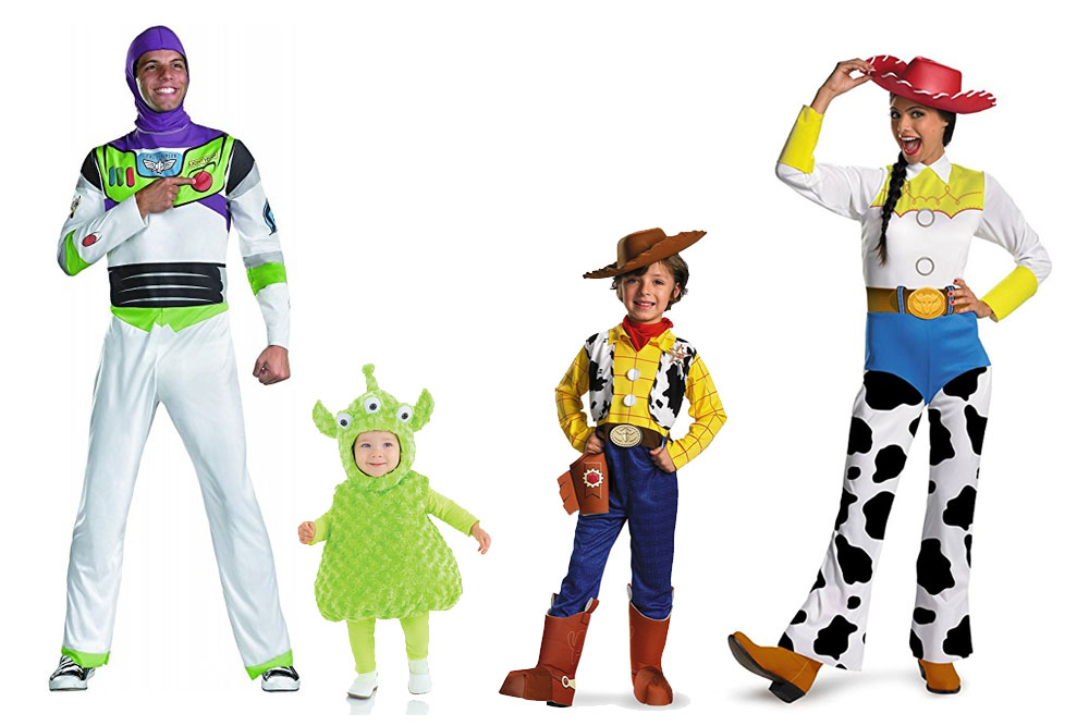 Fun And Unique Family Matching Costume Ideas Toy Story