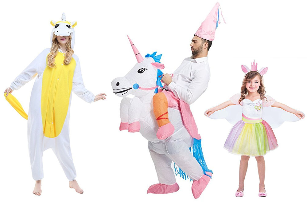 Fun And Unique Family Matching Costume Ideas Unicorns