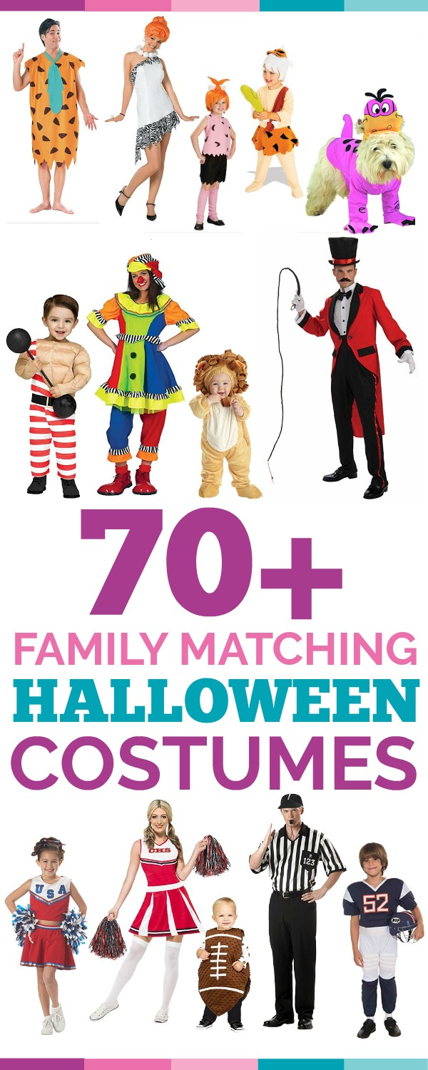 70+ family matching halloween costume ideas - awesome alice