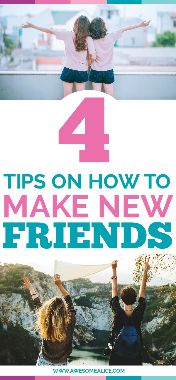 Making new friends when you're an adult is difficult. Read this 4 tips on how to make friends when you're a mom and 5 places where you can meet them.