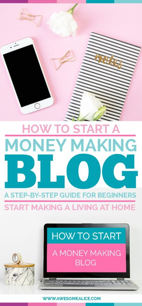 Do you want to make money from home, while staying home with your kids? Then this is for you. I'll show you how to start a money making blog in no time