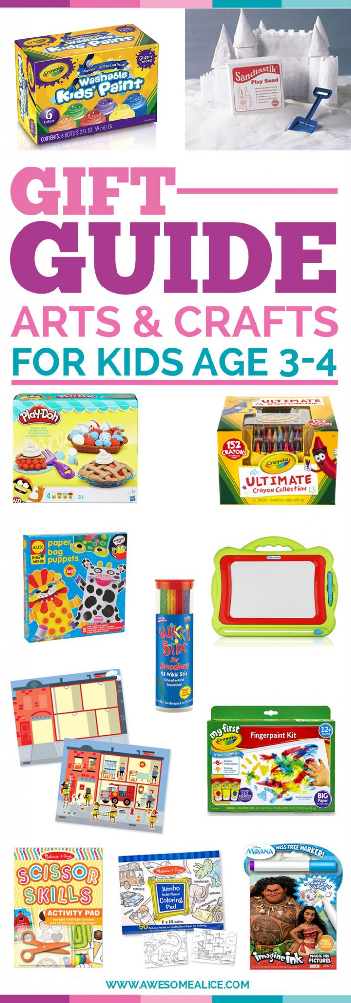 arts crafts gift guide for kids christmas gifts for kids perfect christmas gift