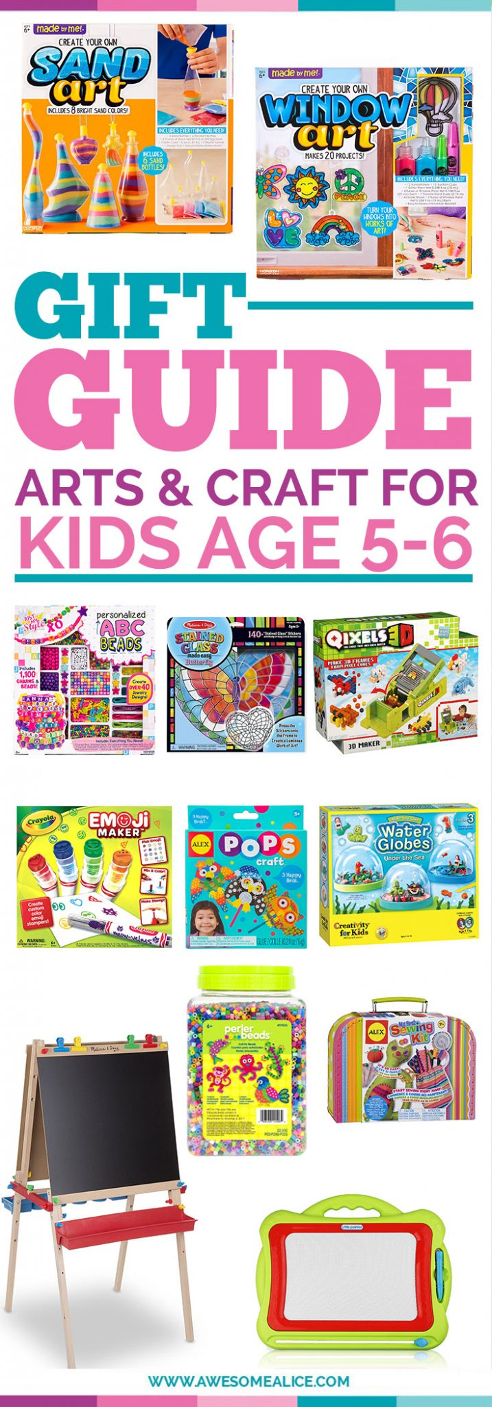 Christmas gift guide for kids the ultimate gift guide for for Craft presents for 5 year olds