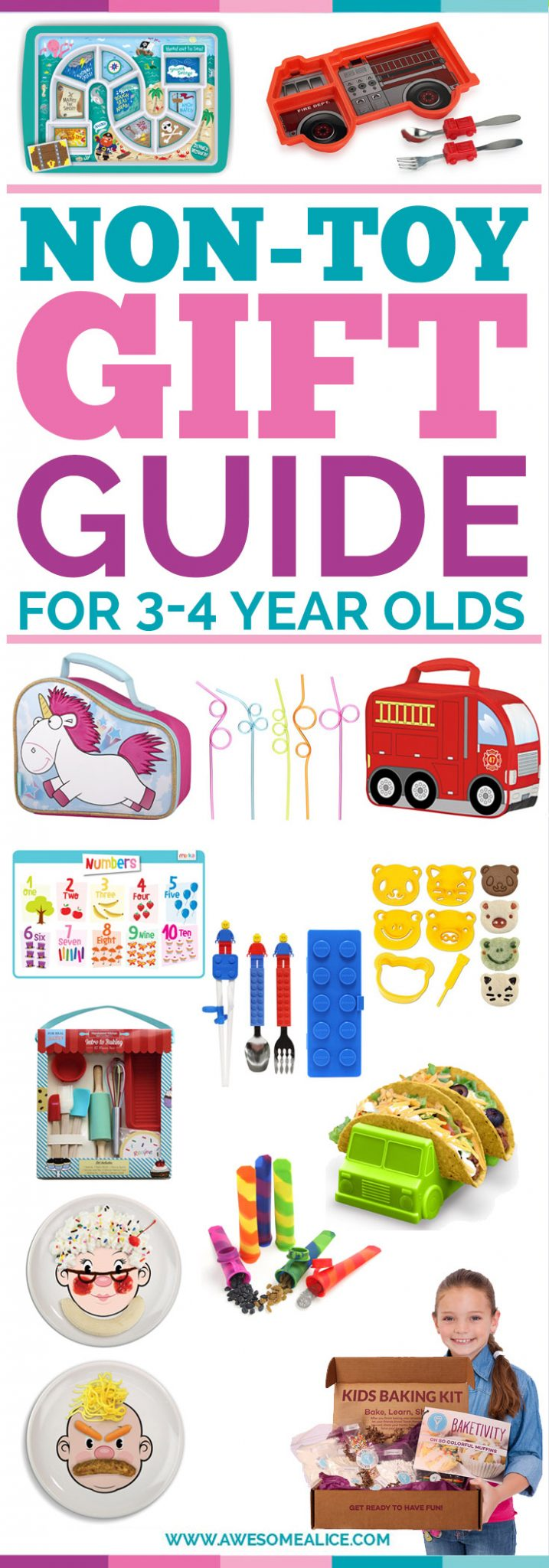Gift Guide For Picky Eaters | Christmas Gifts For Kids | Perfect Christmas Gift For Five year olds | The Best Kids Feeding Products | The Best Gifts for Four Year Olds | Children Christmas Gift Guide | The Best Kids Gift Guide | Holiday Gifts For Kids | #giftguide #pickyeater #kids #non-toys #musthaveproducts #bestproducts #ChristmasGifts #Christmas | www.awesomealice.com