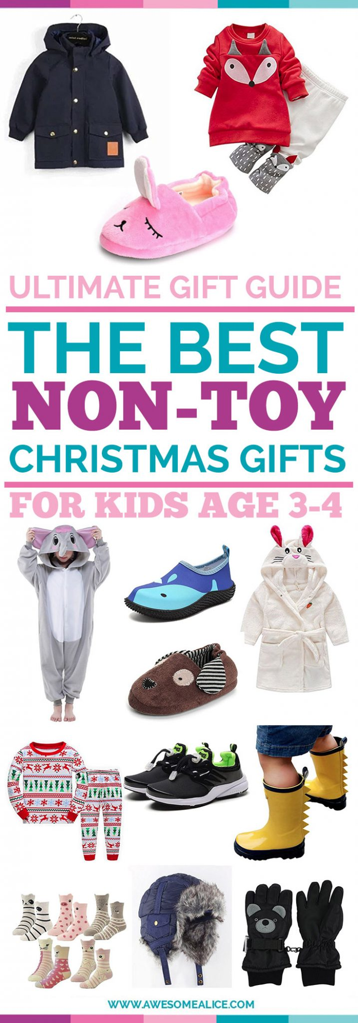 Christmas Gift Guide For Kids: The Ultimate Gift Guide For Kids Age 0-6