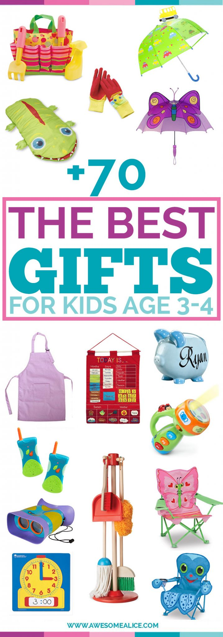 non toy gift guide for kids christmas gifts for three year olds perfect