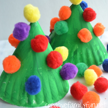 Paper Plate Christmas Tree Kids Craft Awesome Alice