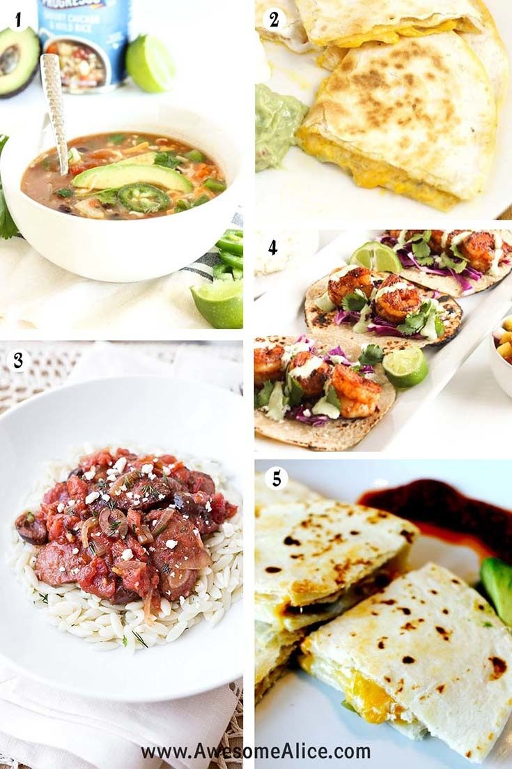 15 Easy 15-Minute Dinner Recipes Your Family Will Love! | Awesome Alice