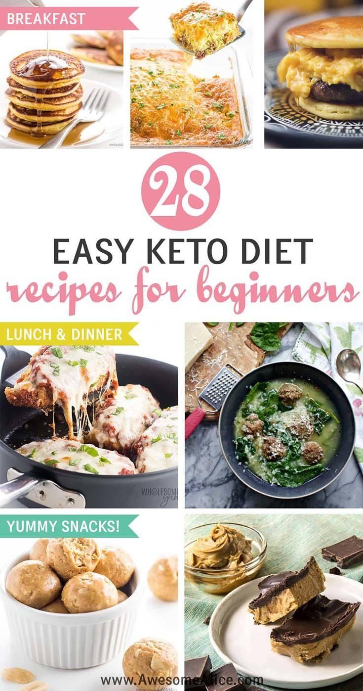 easy ketogenic meal plan pdf