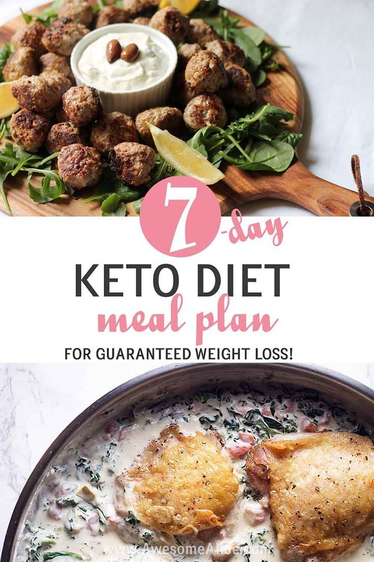 Keto diet meal plan for beginners - Awesome Alice
