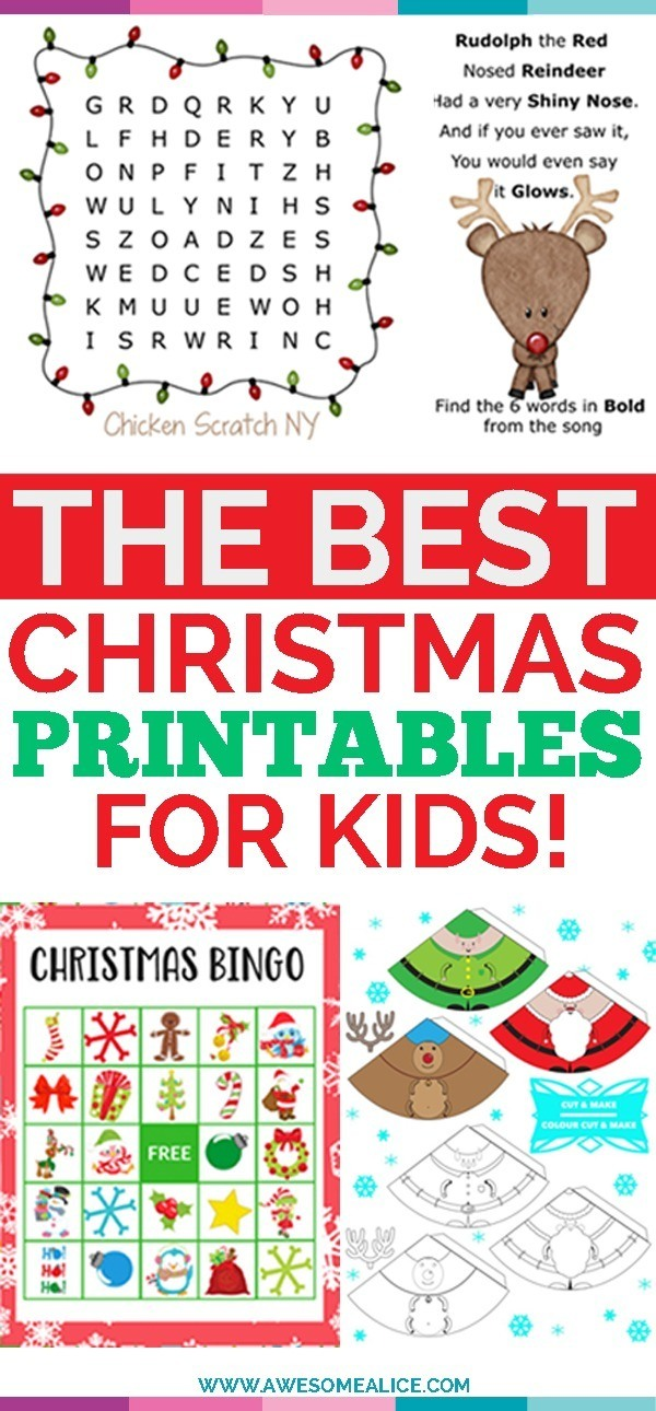 image regarding Christmas Pickle Story Printable identified as Best 10 Absolutely free Xmas Printable Things to do for Youngsters