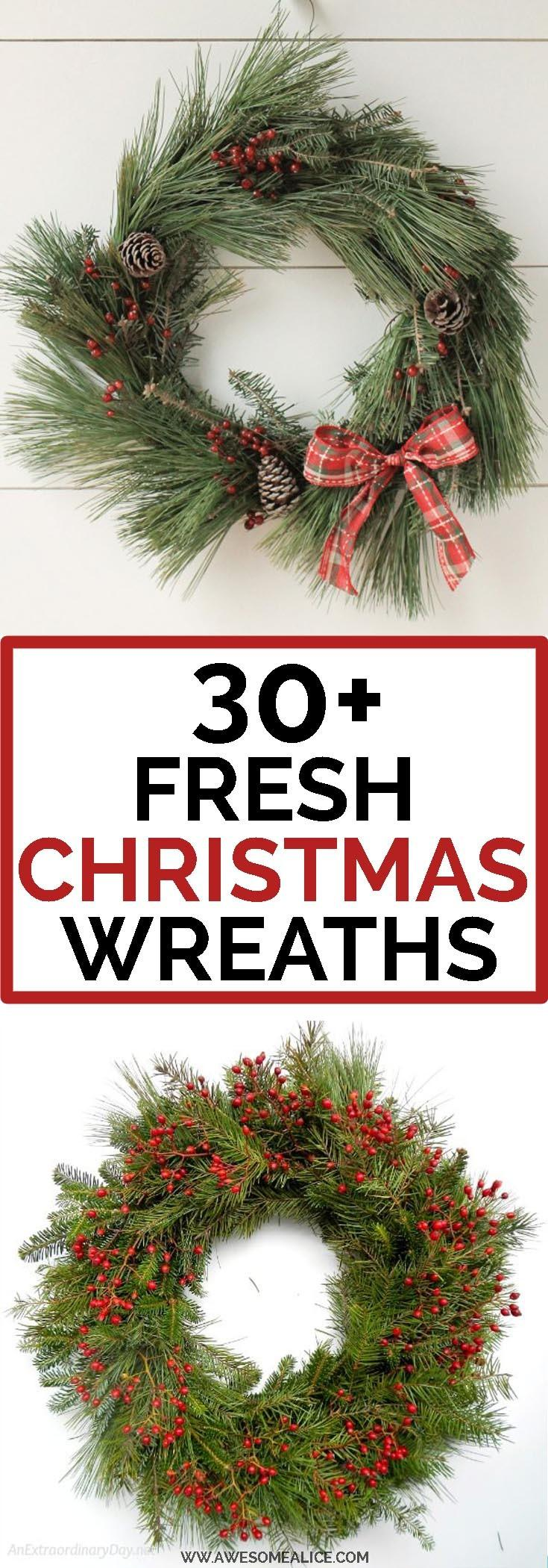 make a beautiful christmas wreath using fresh evergreen cuttings in less than an hour these