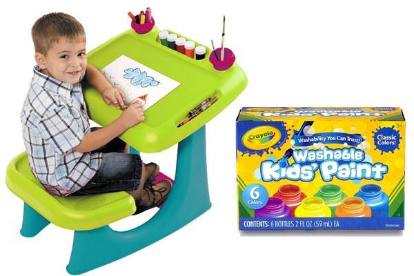 Art Gift Ideas for Creative Kids Who Love Art