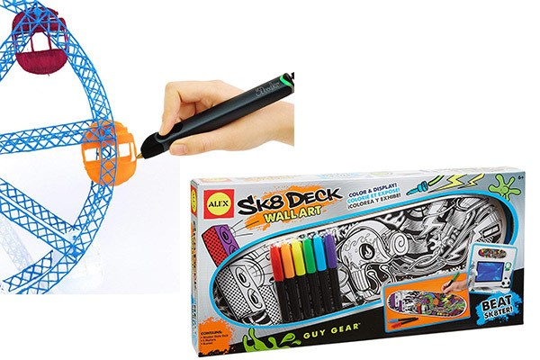 Coll Gift Ideas for Creative Boys Who Love Art