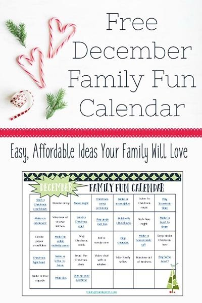 Free Christmas Printable Activities for Kids - Family Fun ...