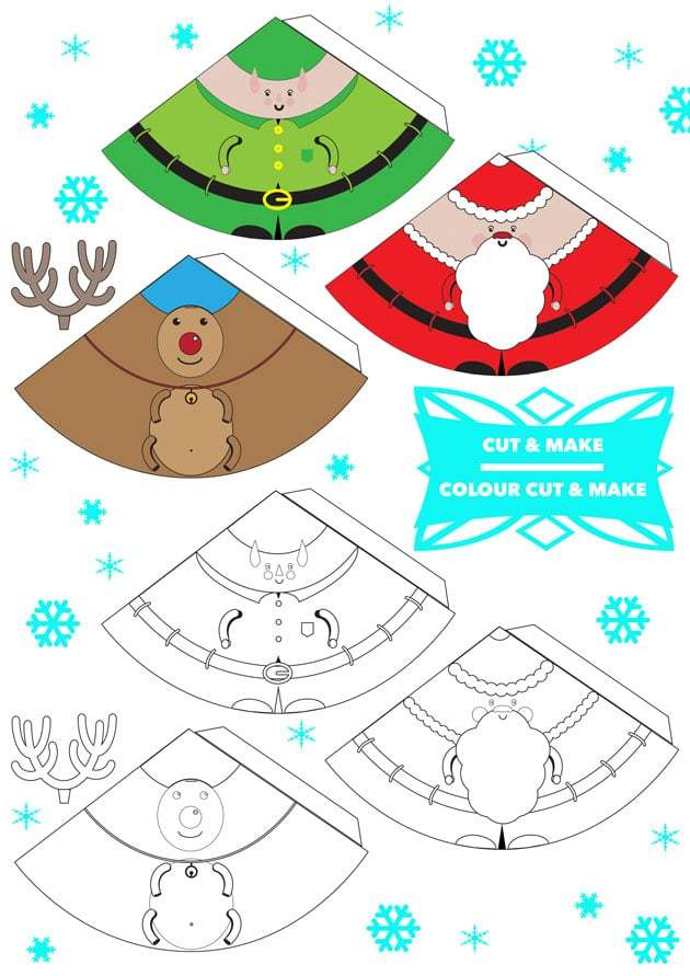 photograph about Printable Christmas Activities known as Greatest 10 Free of charge Xmas Printable Functions for Little ones