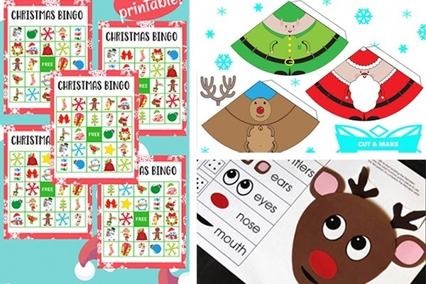 graphic about Printable Christmas Activities known as Supreme 10 Free of charge Xmas Printable Pursuits for Youngsters