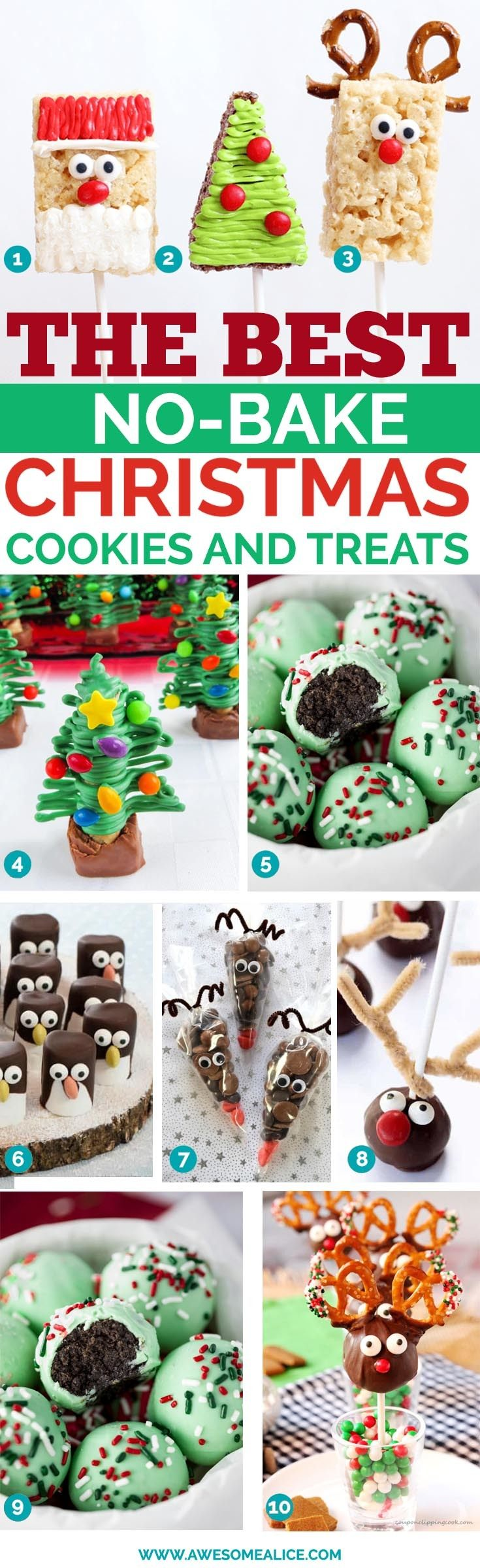 30+ Quick and Easy No-Bake Christmas Treats to Make This Year