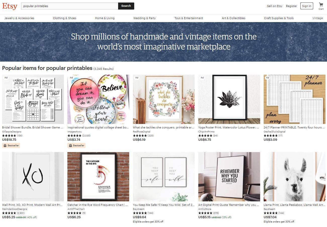 photograph about Etsy Printables identify Etsy highest distinguished printables - Incredible Alice