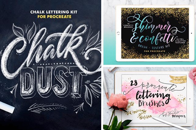 The Best Procreate Brushes for Lettering on the iPad Pro