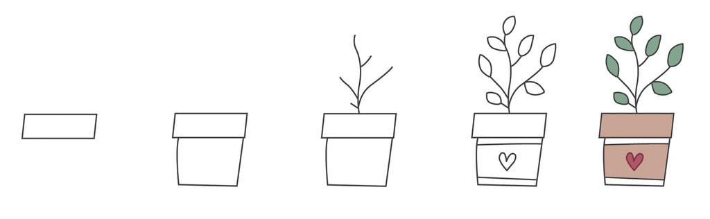 Plant Doodles Leaves
