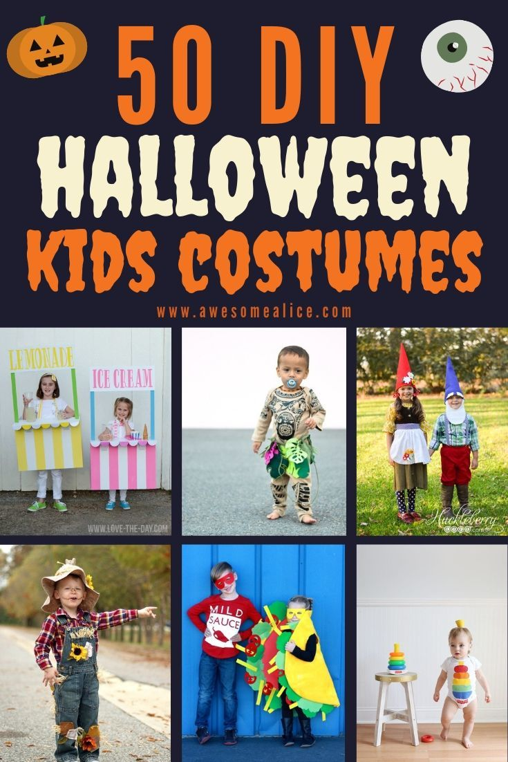 Easy and creative diy halloween costumes for kids