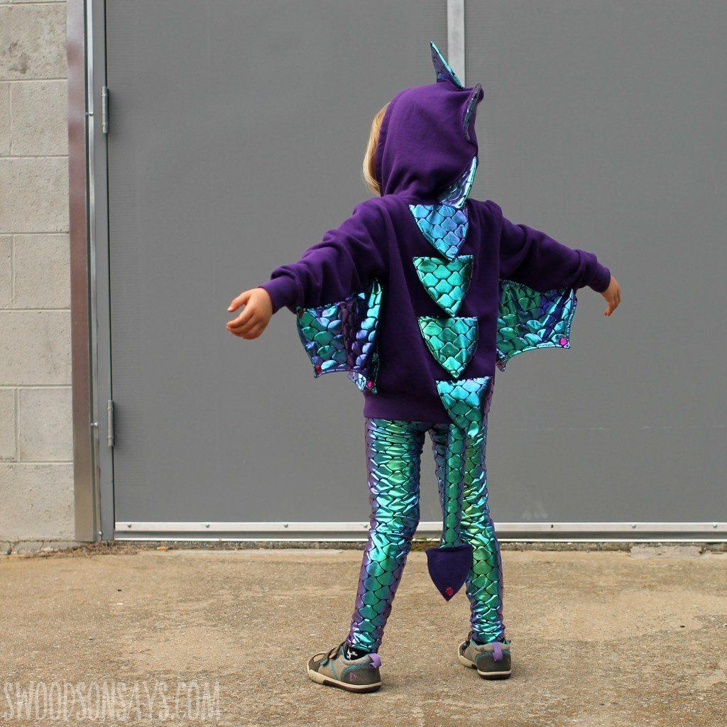 DIY Halloween Costumes for Kids - Dragon