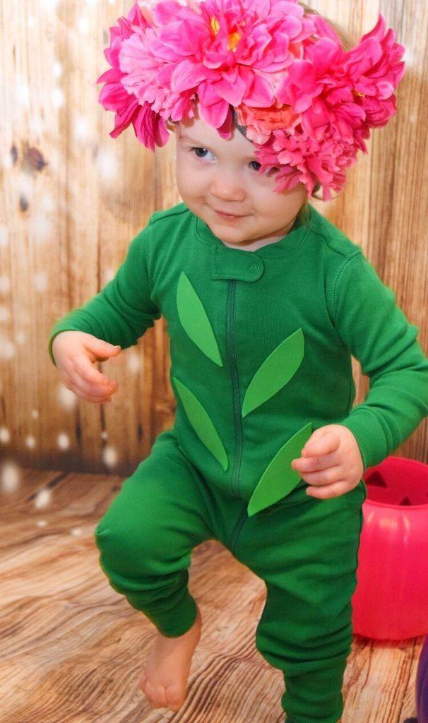 DIY Halloween Costumes for Kids - Flower