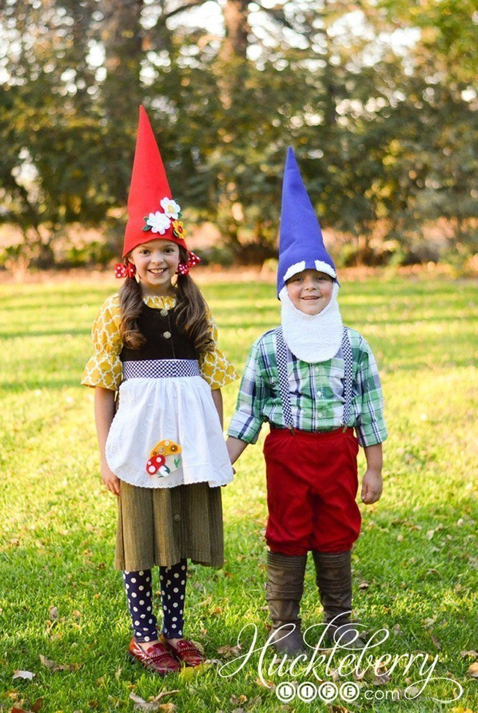 DIY Halloween Costumes for Kids - Gnomes