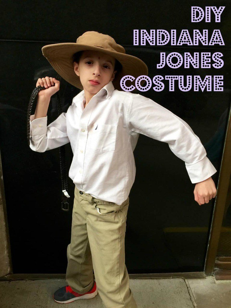 DIY Halloween Costumes for Kids - Indiana Jones
