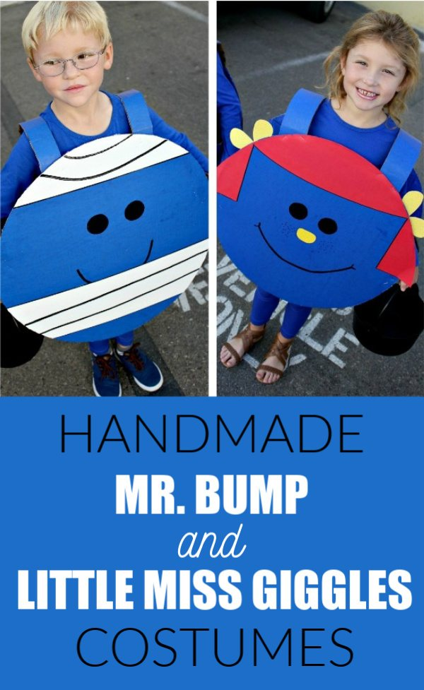 DIY Halloween Costumes for Kids - Mr Bump