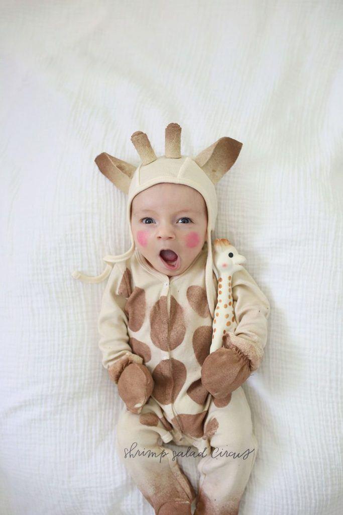 DIY Halloween Costumes for Kids - Sophie the giraffe